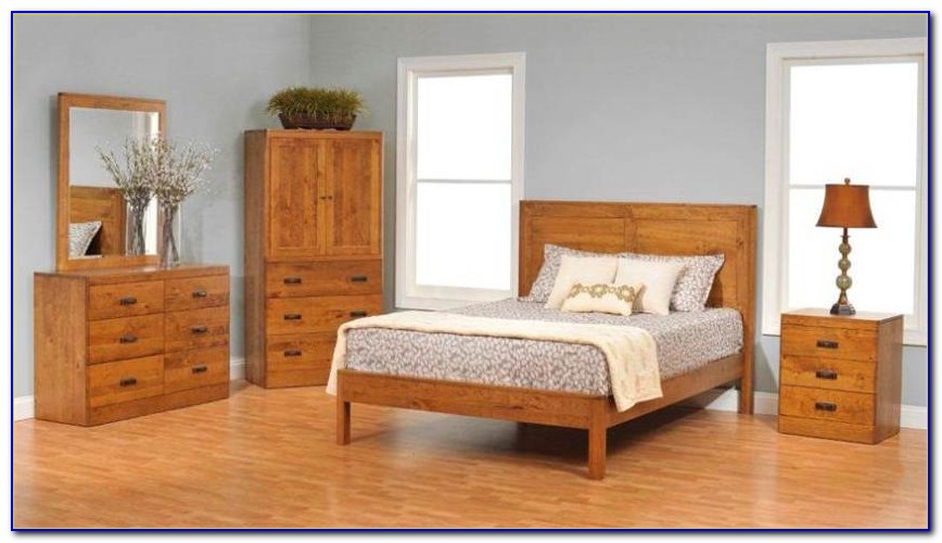 Real Wood King Size Bedroom Sets