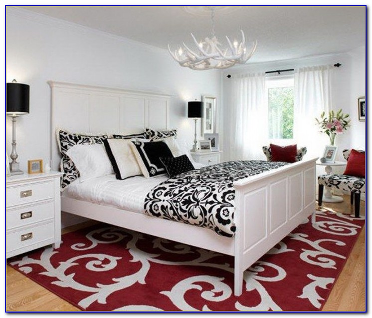 Room Decor Black White And Red