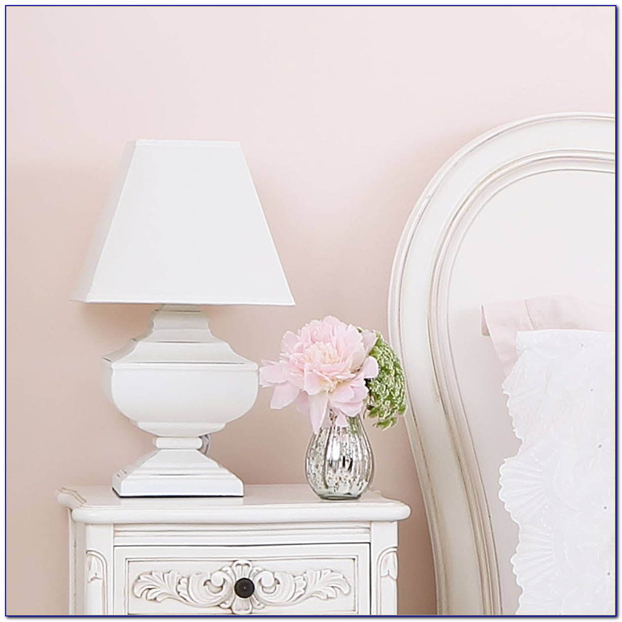 Shabby Chic Table Lamps For Bedroom