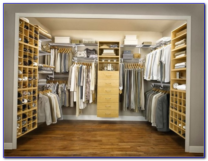 Small Space Closet Design Ideas