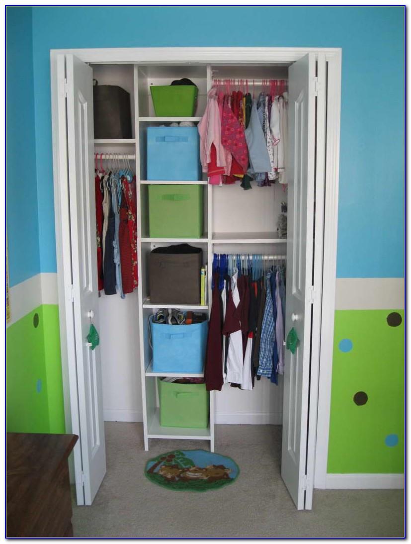 Small Space Closet Organization Ideas