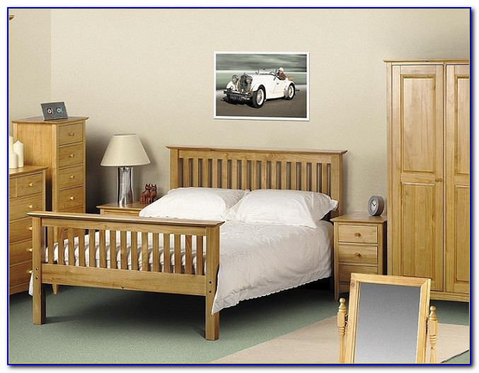 Solid Pine Youth Bedroom Set