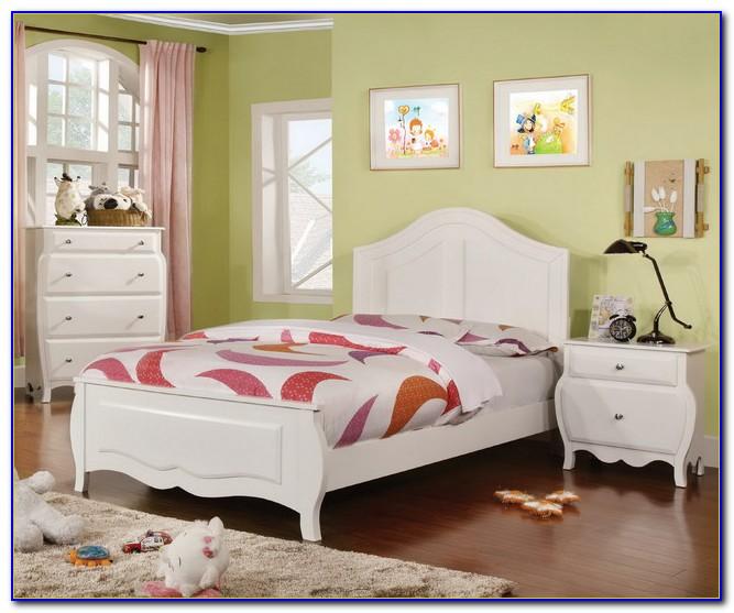 Solid Wood White Bedroom Sets