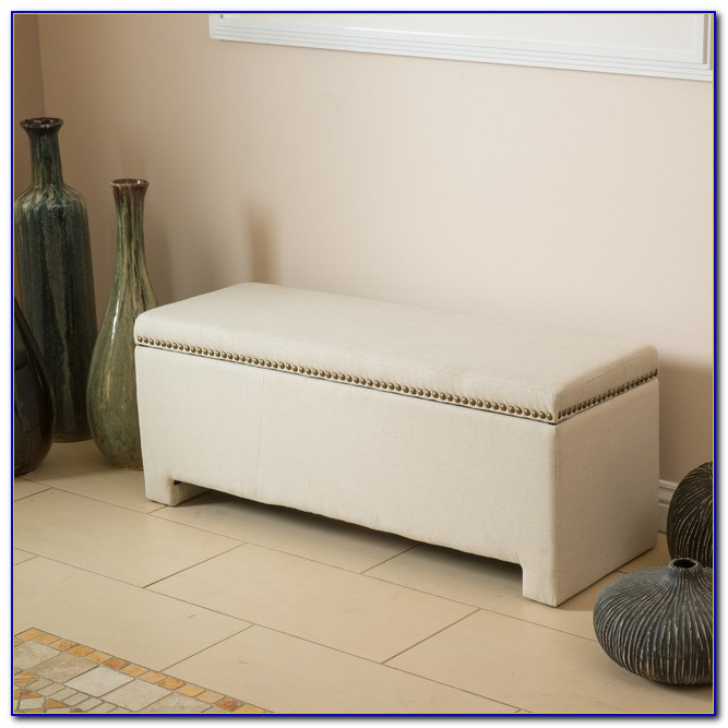 Storage Ottoman Bench Bedroom