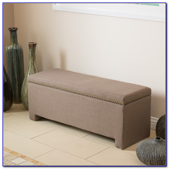Storage Ottoman Bench For Bedroom