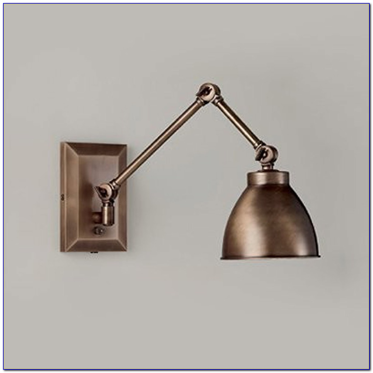 Swing Arm Wall Sconce Bedroom