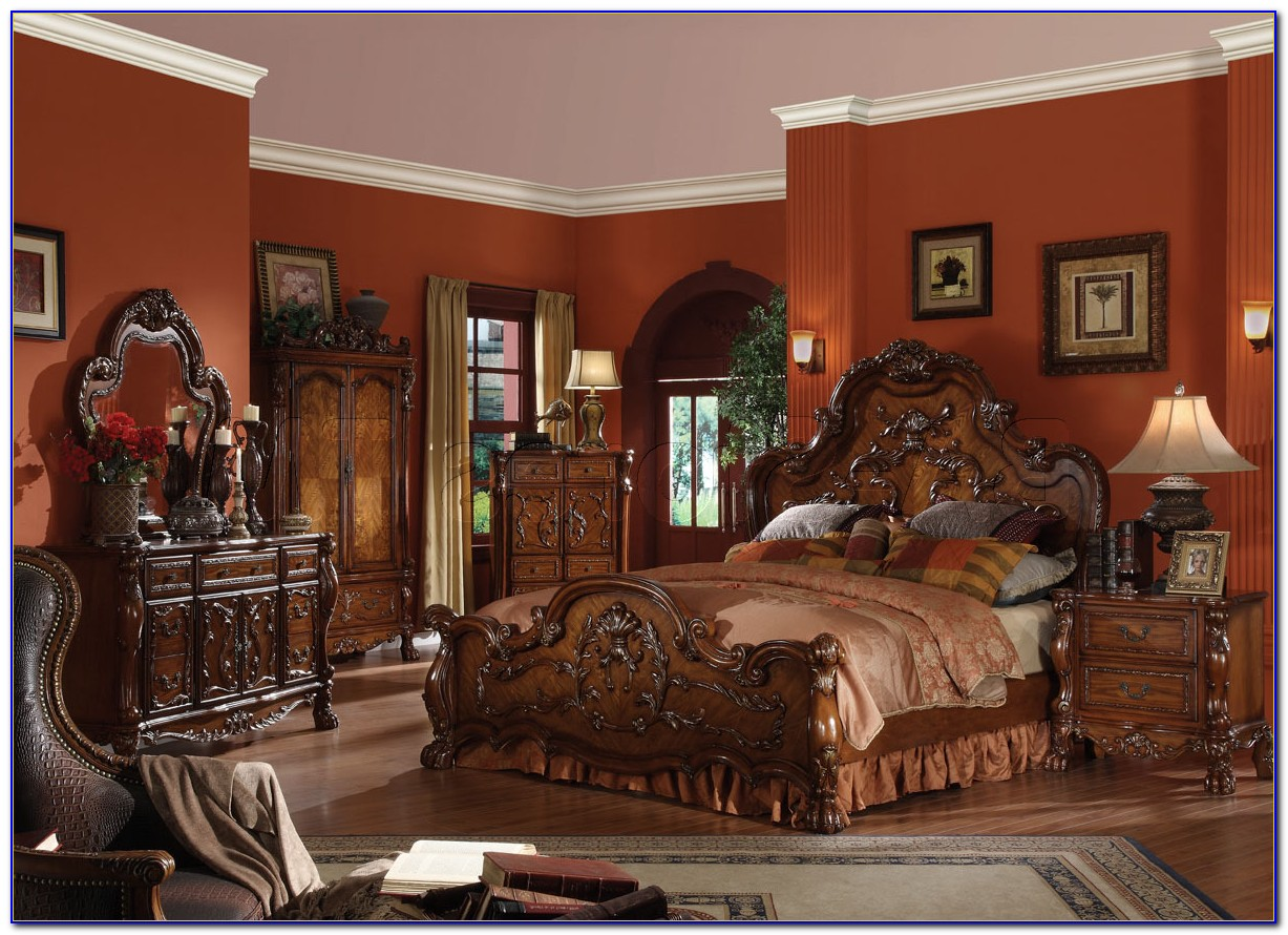 Traditional Cherry Bedroom Furniture