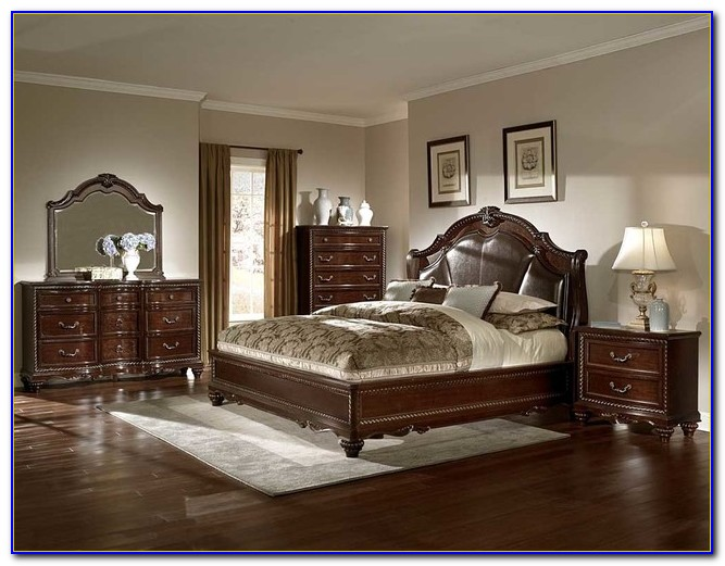 Traditional Cherry Wood Bedroom Furniture