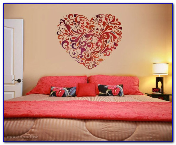 Wall Paintings For Bedrooms Flowers