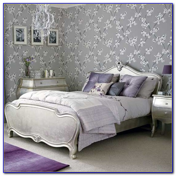 White And Silver Bedrooms