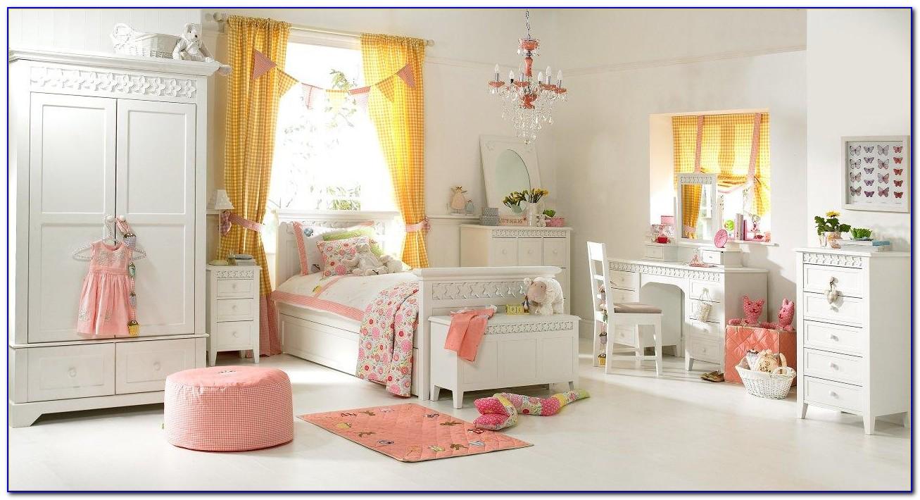 White Pink Bedroom Furniture
