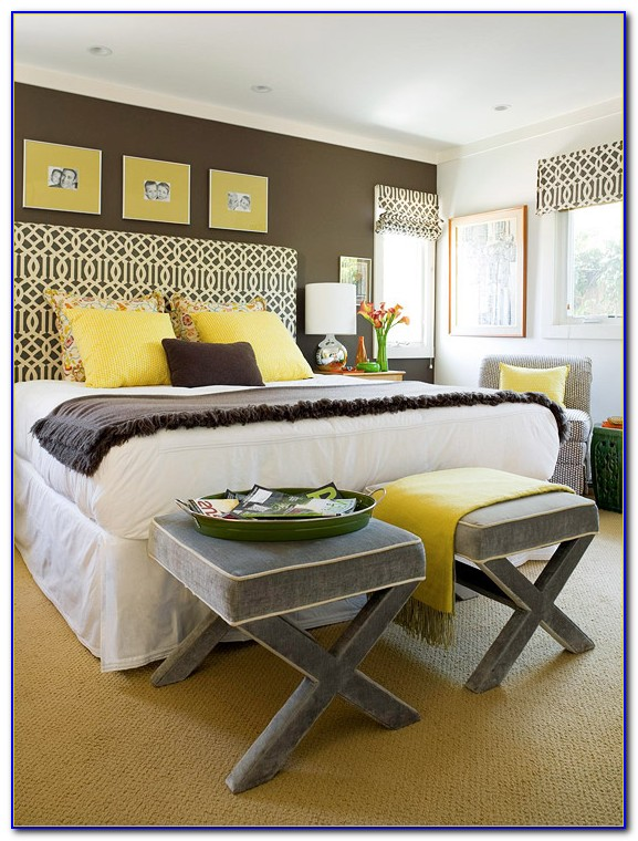 Yellow And Gray Bedroom Accessories