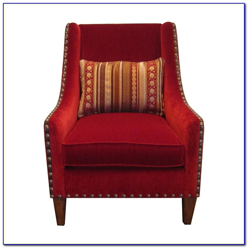 Accent Chairs With Arms And Ottoman
