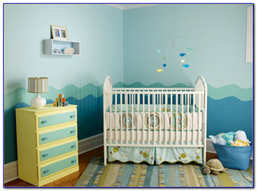 Baby Boy Nursery Decorating Ideas Pictures
