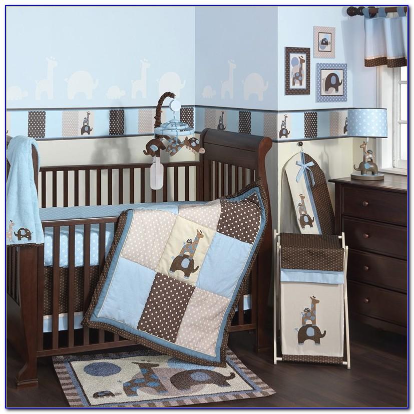 Baby Boy Nursery White Furniture