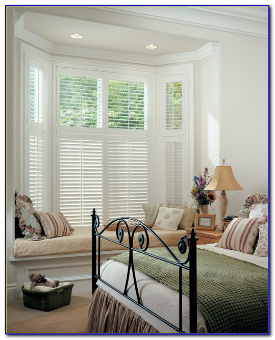 Bedroom Bay Window Treatments