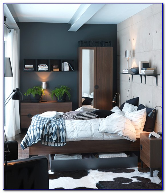 Bedroom Designs For Small Rooms Black And White