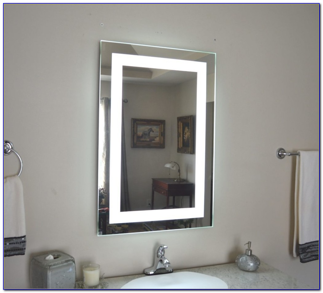 Bedroom Mirrors With Lights Around Them