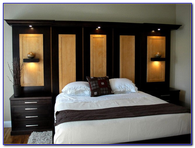 Bedroom Wall Unit Pictures