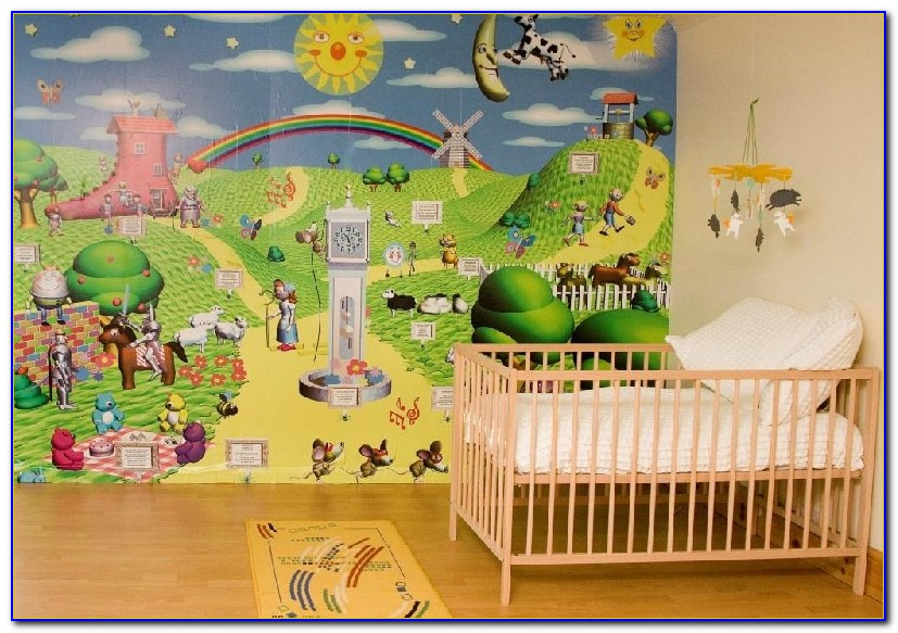Boy Bedroom Wall Murals