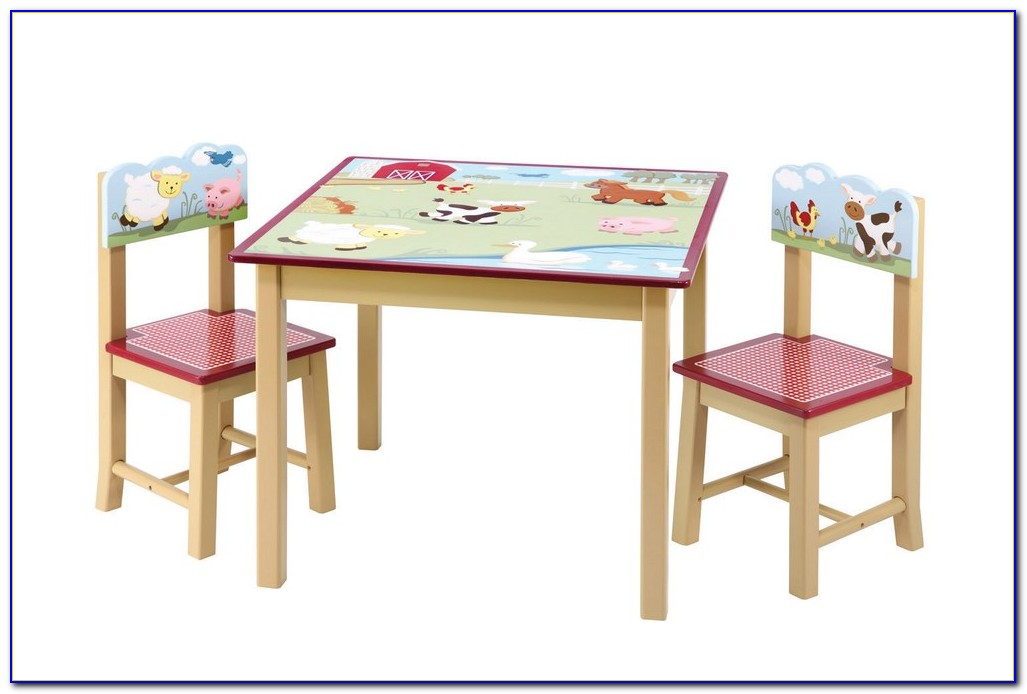 Childrens Table And Chair Set Wood
