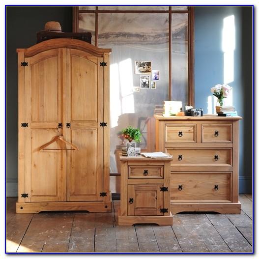Corona Pine Bedroom Furniture Set