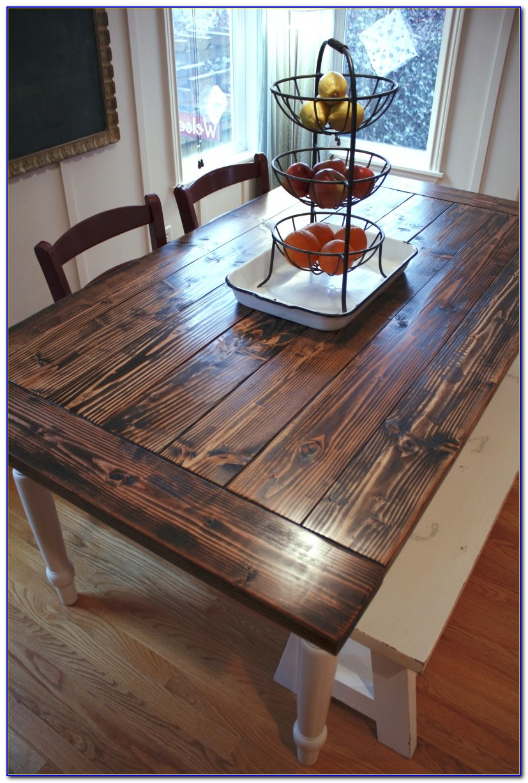 Farmhouse Table And Chairs Diy
