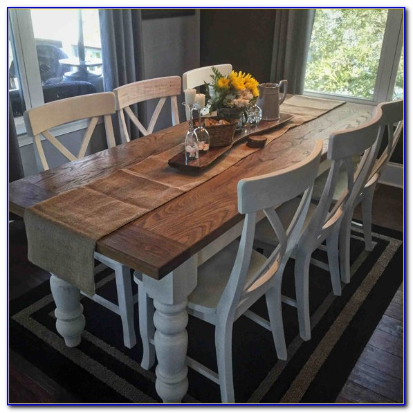 Farmhouse Table And Chairs Gumtree