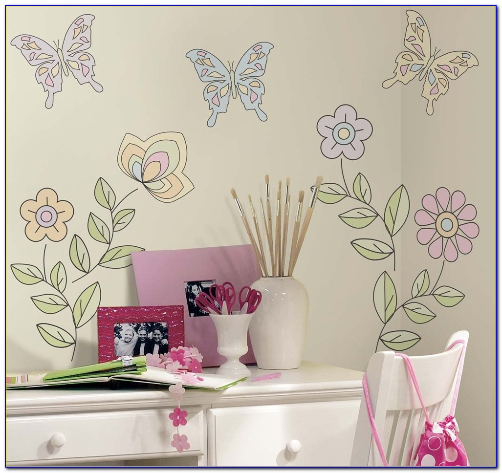 Girl Bedroom Wall Stickers