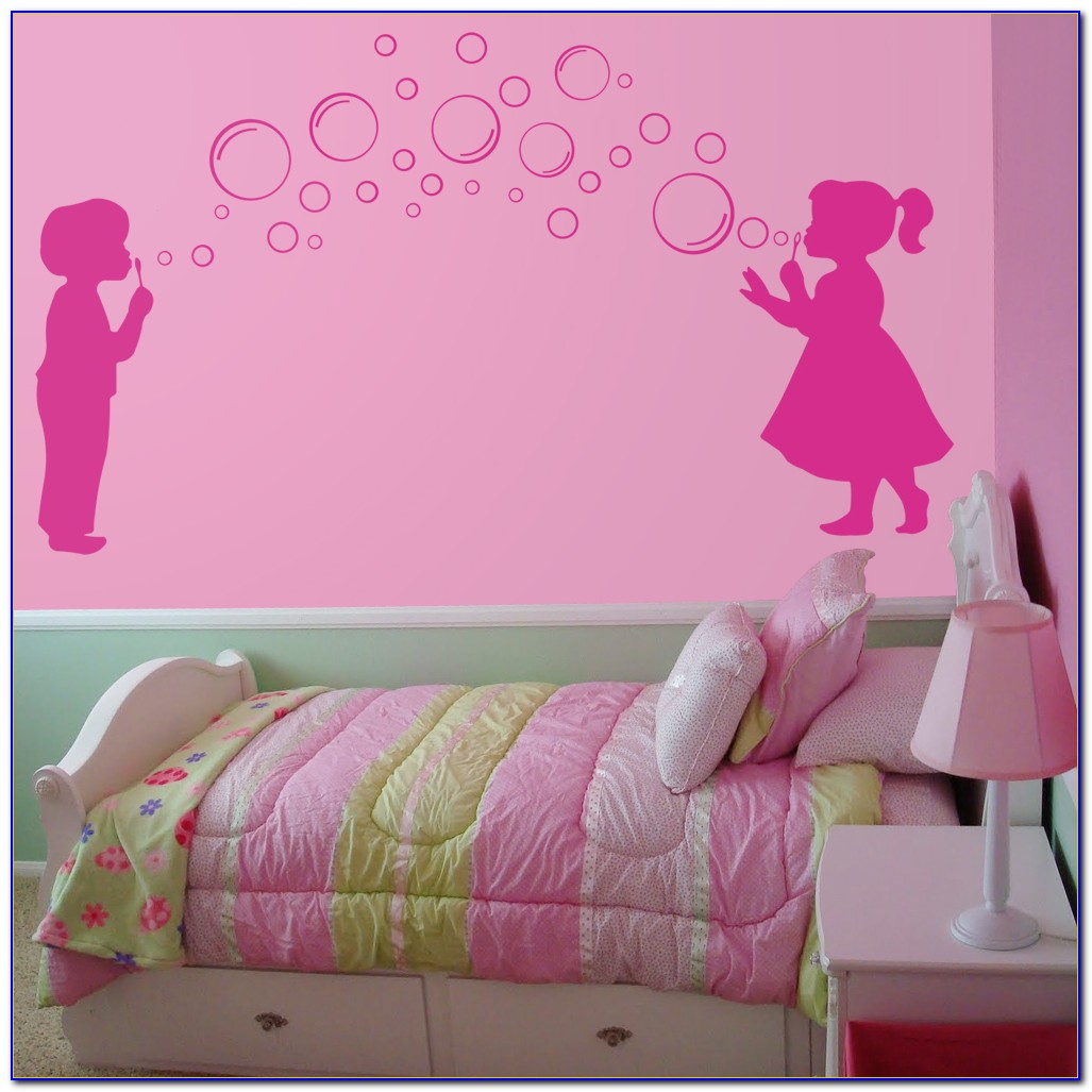 Girl Wall Decor Stickers