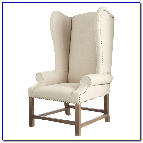 High Back Wing Chairs For Living Room