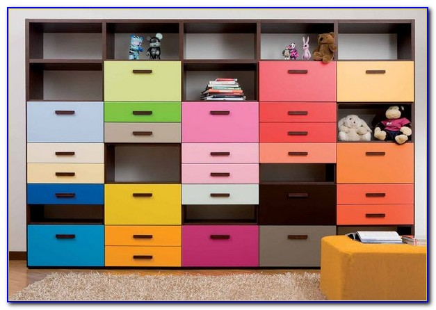 Kids Bedroom Storage Units