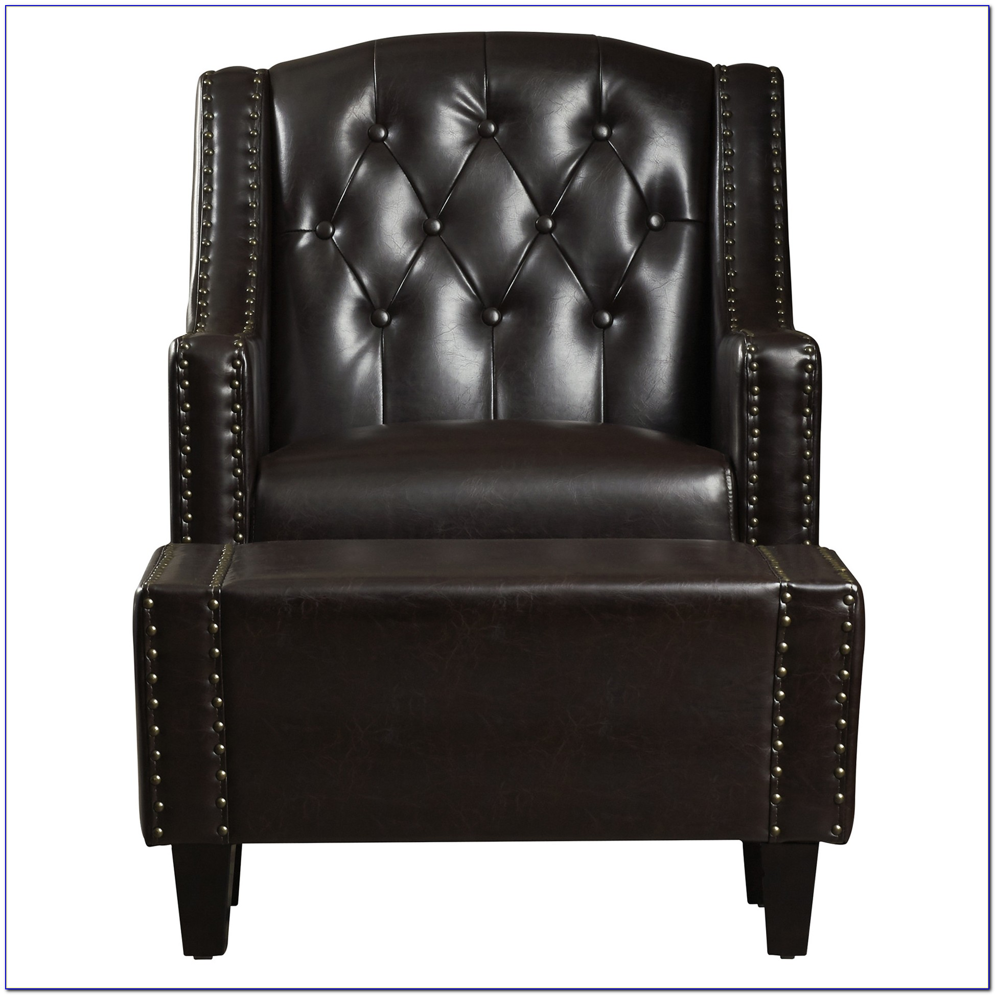 Leather Chair And Ottoman Macy's