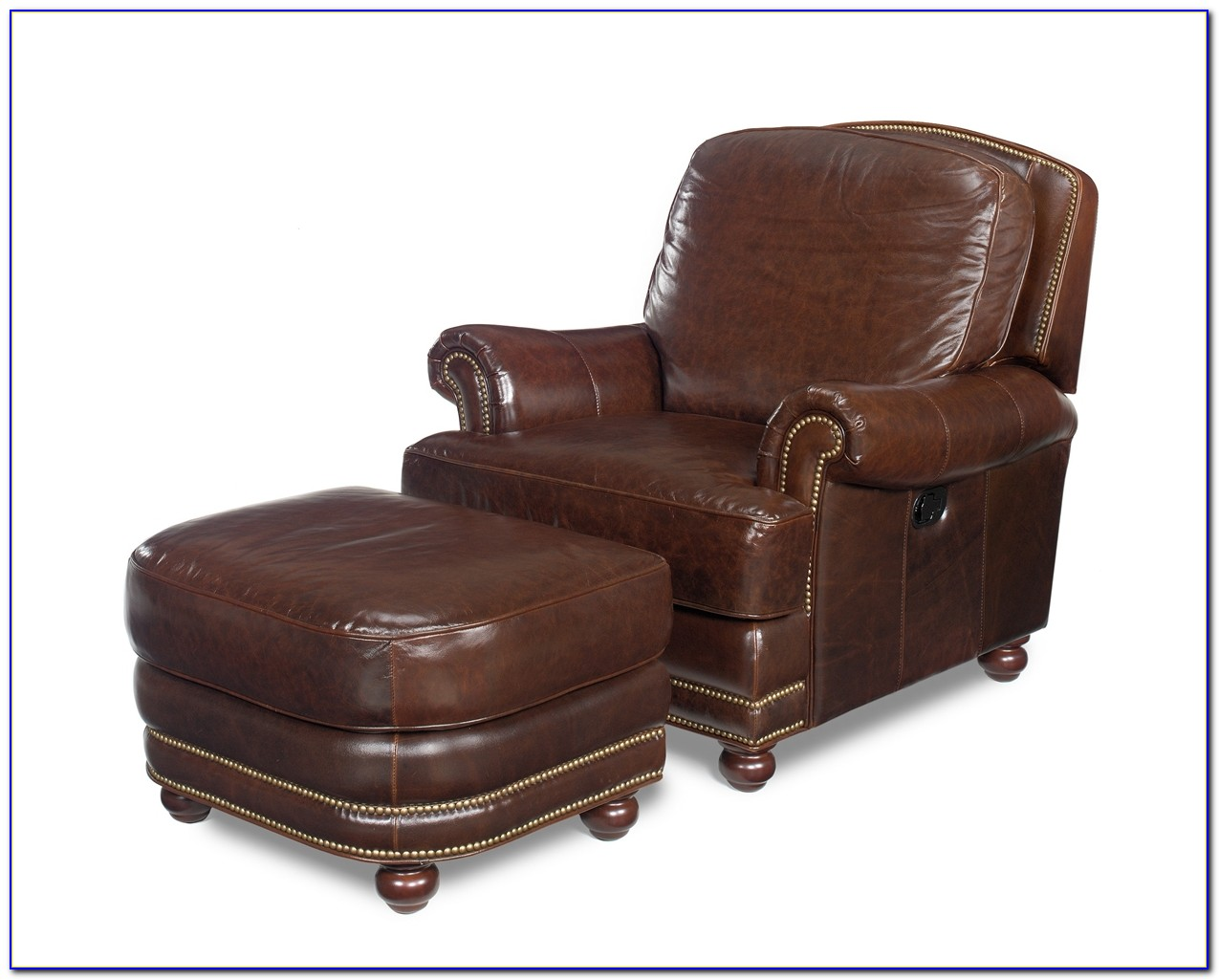 Leather Chair And Ottoman Pottery Barn