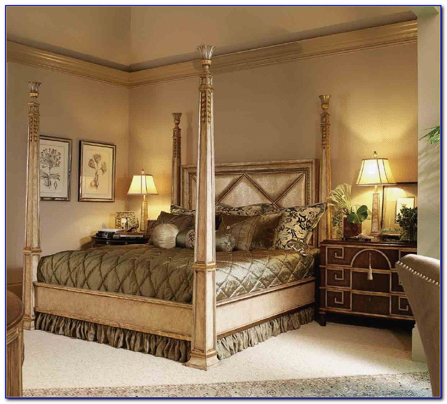 Malaysia Four Post King Size Bedroom Set Bedroom Home Design