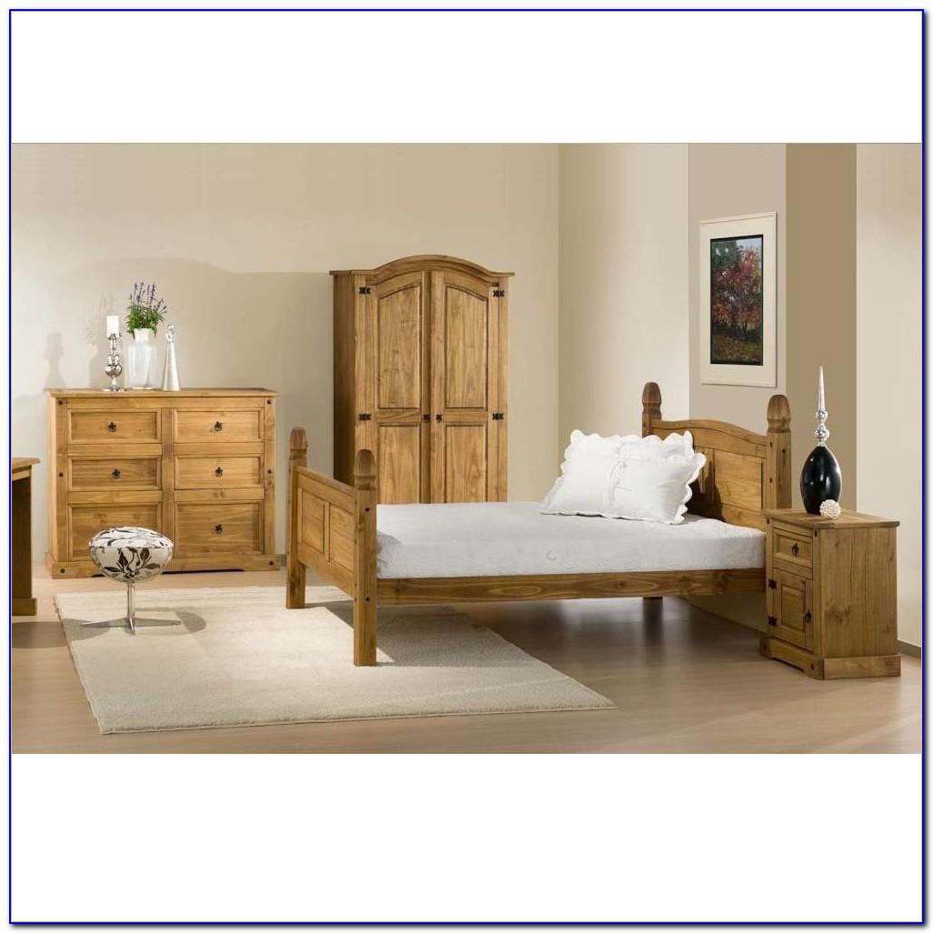 Mexican Pine Bedroom Furniture Set