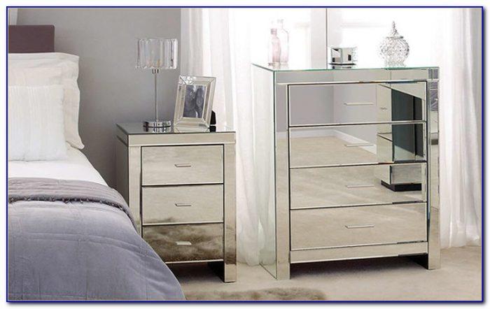 Mirrored Glass Bedroom Furniture Uk