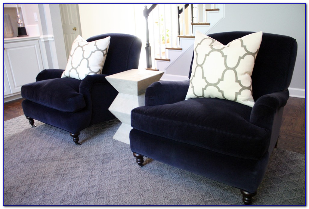 Navy Blue Velvet Dining Room Chairs