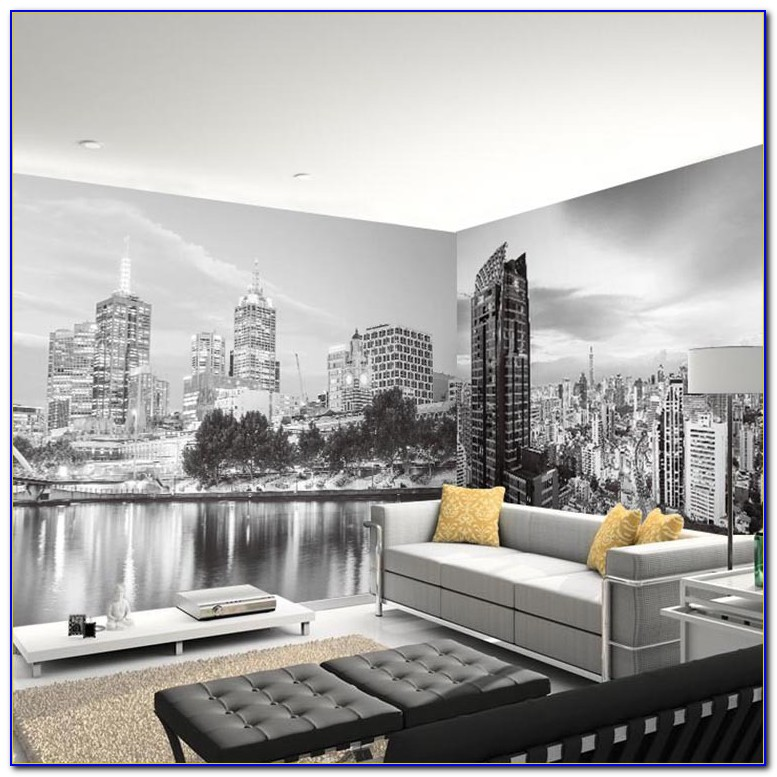 New York Wall Murals For Bedrooms