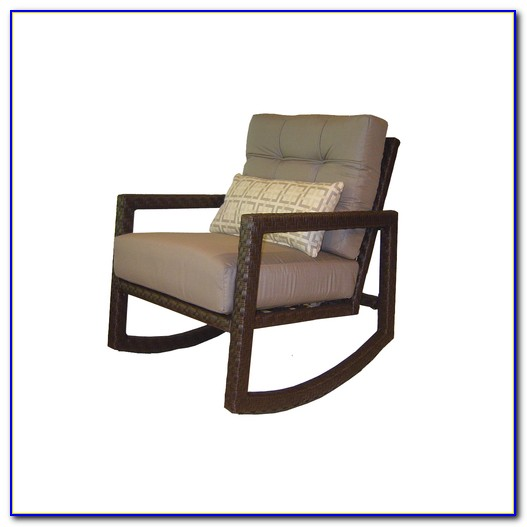 Outdoor Wicker Rocking Chair Canada