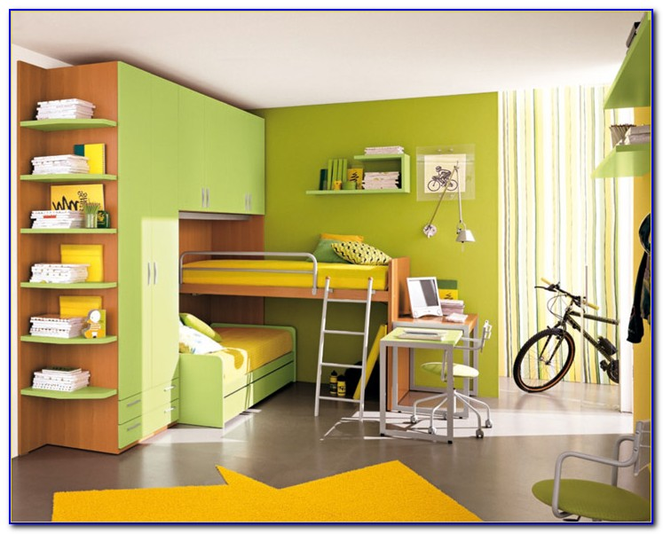 Painting Ideas For Children's Bedrooms
