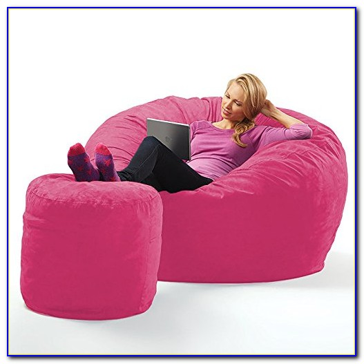 Pink Bean Bag Chair Cover