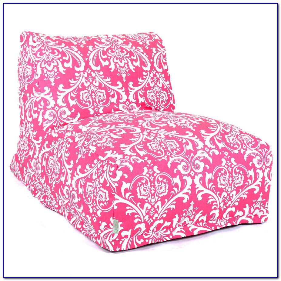 Pink Bean Bag Chair Personalized