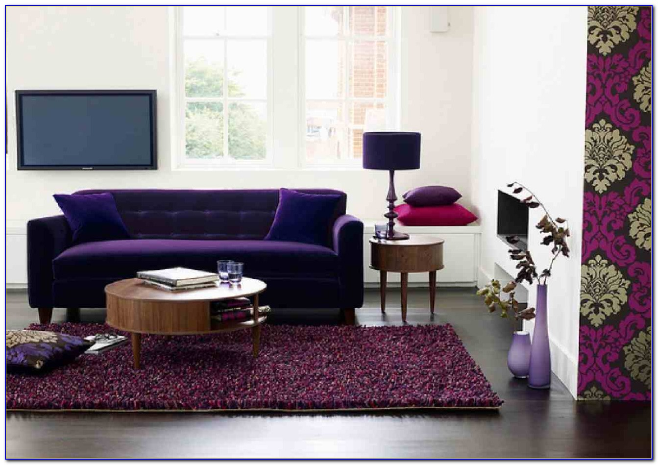 Purple Living Room Furniture Sofas