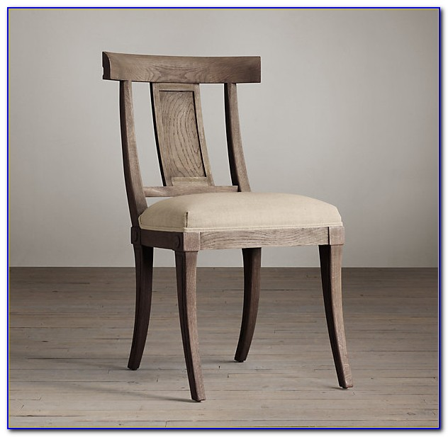 Restoration Hardware Dining Chairs Wood