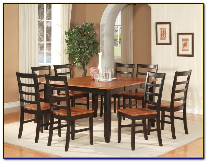 Round Kitchen Table And Chairs For 8
