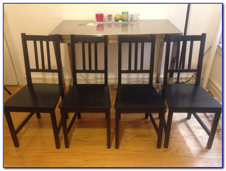 Set Of 4 Dining Chairs Ikea
