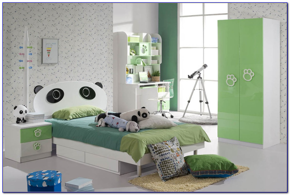 Shared Children's Bedroom Design Ideas