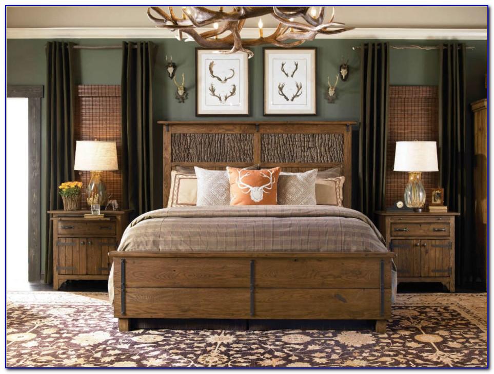 Solid Wood White Bedroom Furniture Set