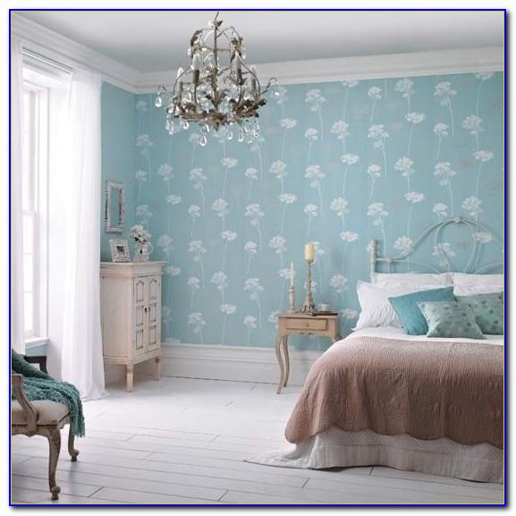 Teal Wallpaper For Bedroom
